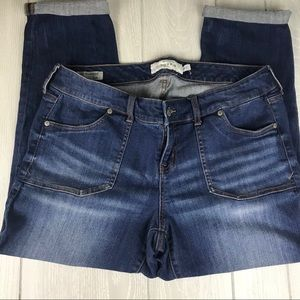 NWOT Torrid Ex-Boyfreind denim stretch jeans